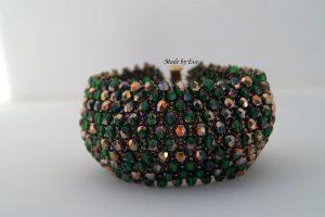 zielono -złota bransoletka Caprice