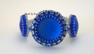 bracelet with lunasoft cabachon