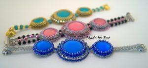 collection of lunasoft kabaszonami bracelets
