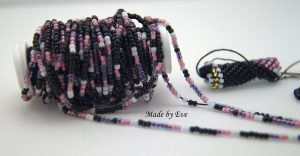 beads on the thread