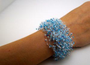 bracelet like a blue mist