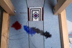 a bracelet on the loom
