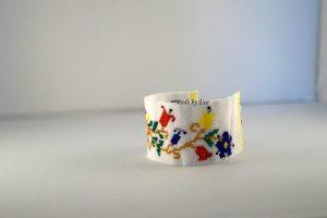 Bracelet with a Kashubian pattern