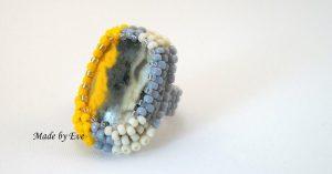 A ring in safari colors