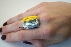 pierścionek safari