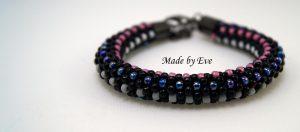 Crocheted bracelets