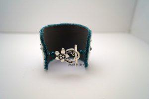 bransoletka haftowana koralikami