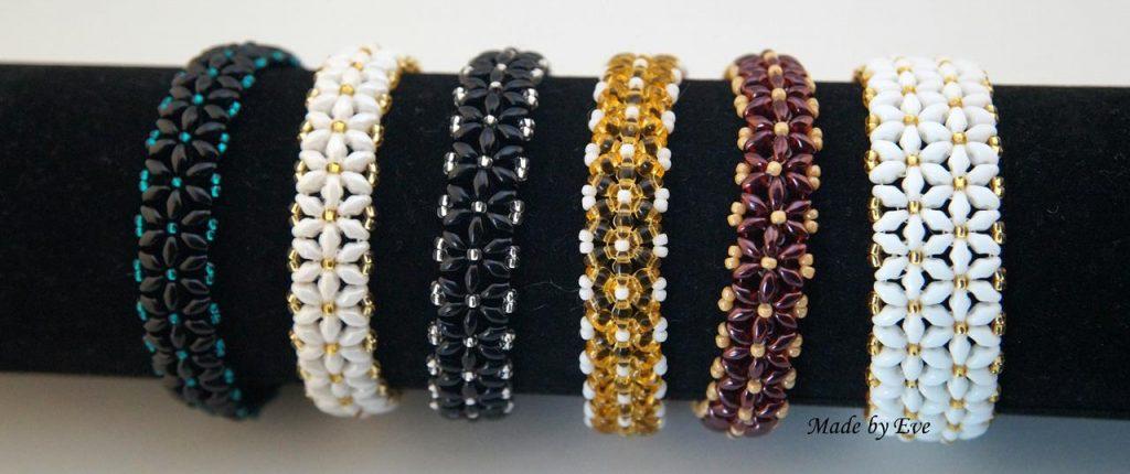 Flower bracelets 2