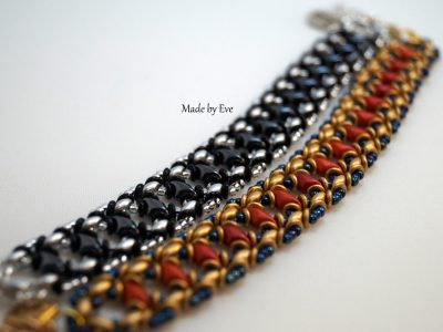 Bracelet with diamond beads